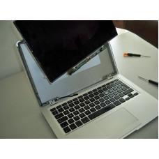 MacBook ekrano keitimas